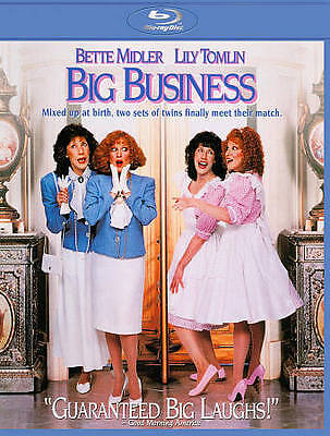 Big Business (Blu-ray Disc, 2011) Bette Midler Lily Tomlin BRAND NEW FREE SHIP