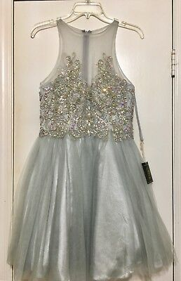 Homecoming Dress - Coya Siver Size 4-6