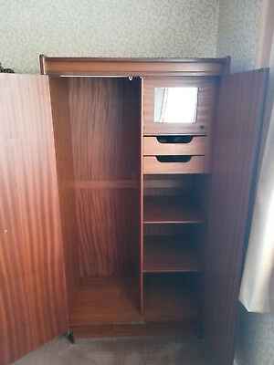 Vintage Double Wardrobe by White and Newton