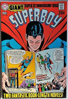 * SUPERBOY 156 (NM 9.2) GIANT G-59 20th Anniversary Issue! HIGH GRADE *