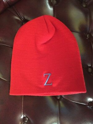 7946e5ea635d48 G.I. Watch Cap Cuff Steve Zissou Life Aquatic Red Knit Theme Beanie Unisex  NWT