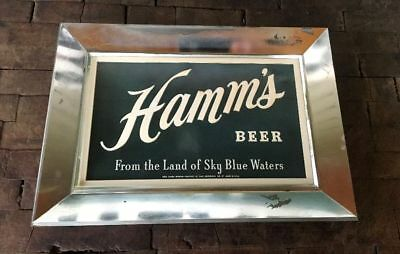 Vintage Hamm's Beer Advertising Sign Theo Hamm Brewing Co. St. Paul, MN