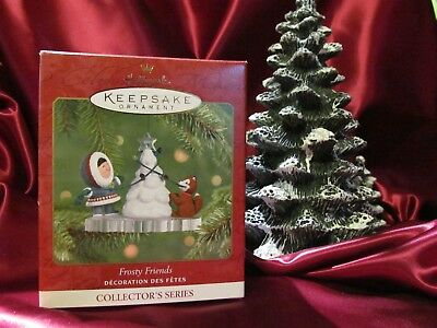 Hallmark Keepsake Ornament 2001 Frosty Friends 22nd in Series NIB