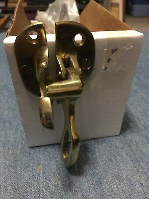 Solid Brass Ice Box Handle Latch