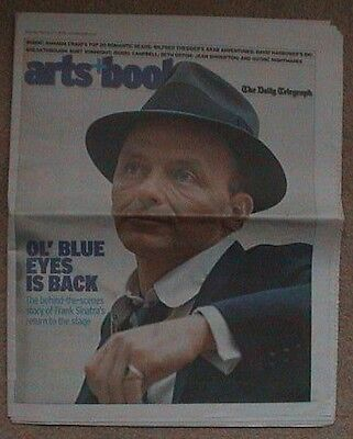 2006 Daily Telegraph Supplement Frank Sinatra Frank Zappa Jean Shrimpton 20 Page