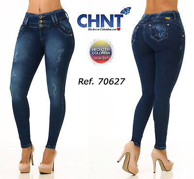 CHNT. Authentic Colombian Push Up Jeans,Levanta Cola,Jeans Colombianos