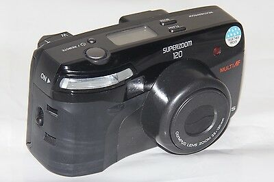 Olympus Superzoom 120 multi AF 35-120mm Kompaktkamera