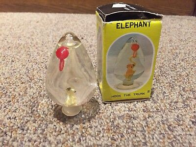 VINTAGE Hook it game PAPER WEIGHT Elephant ADVERTISING