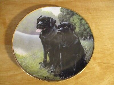 Franklin Mint Sporting Companions Limited Edition Plate