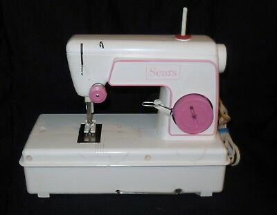 Sears Children's Sewing Machine Model 49-1210 Battery Operated