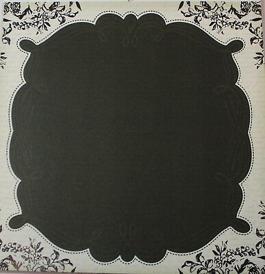 """2 Sheets Of Craft 8""""x 8"""" Scrapbooking Or Card Making Paper Large Frame"""
