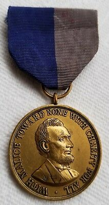 USA Civil War Medal 1861-1865. unnumbered US Army
