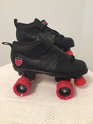 BLACK ZONE I-70 SERIES Men's Indoor Roller Skates Size 6 NEW Without Box