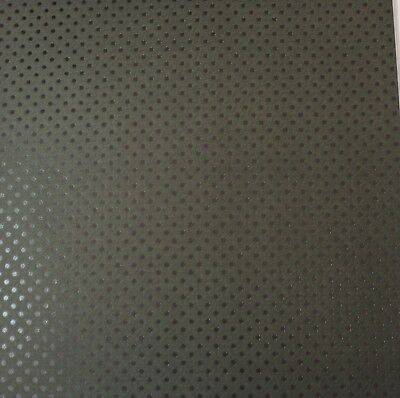 """2 Sheets Of Craft 8""""x 8"""" Scrapbooking Or Card Making Paper Black Small Dots"""