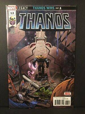 THANOS #13 NM- 1st Cosmic Ghost Rider 1st Print (2018) Marvel