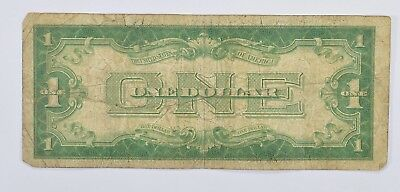 TOUGH - 1928 $1.00 Funny Back - Silver Certificate - Monopoly Money *311