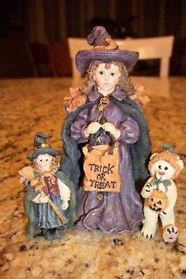 Yesterday's Child The Dollstone Collection Halloween Boyds Bear Trick or Treat