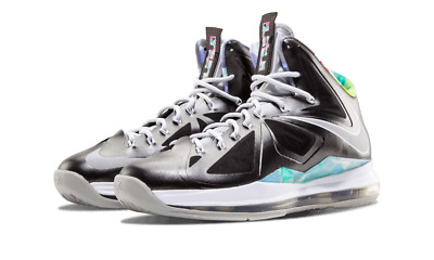978495621a1 ... france nike lebron x 10 prism mens black strata gray white athletic  shoes size 12m 72bbe