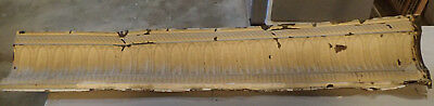 Antique Vtg Architectual Salvage Ceiling Tin Cornice Crown Moulding