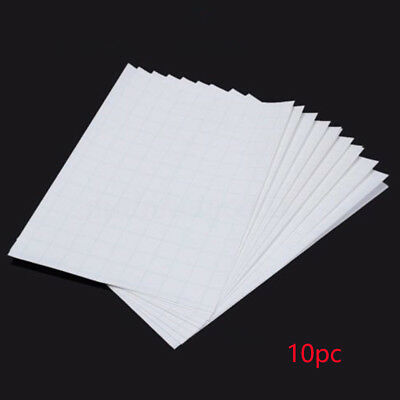 10pcs Heat Transfer For Inkjet Printers A4 T-shirt Paper Fabric Iron Pure White