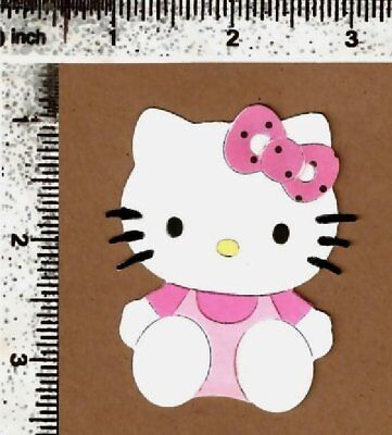 1 custom-made embellishment die cuts HELLO KITTY #1