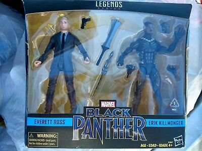 2018 Marvel Legends Series Black Panther Everett Ross Erik Killmonger Target Set