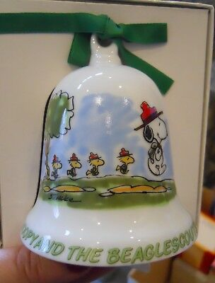 SCHMID Collectors' Gallery SNOOPY & BEAGLE SCOUTS 1984 Annual BELL Orig Box COA