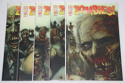 Zombies Feast #1-5 Complete Set (Lot of 5) IDW