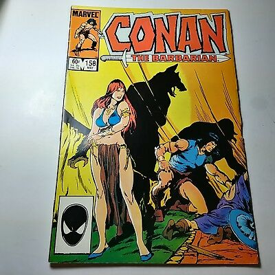 Conan The Barbarian By Marvel Comics #158 MAY 1984 In Good Condition