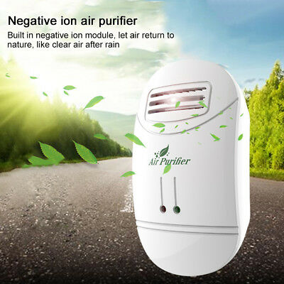 Negative Ion Generator Ionic Air Purifier Remove Formaldehyde Dust Smoke cm7