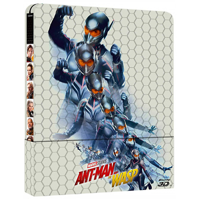 Ant-Man And The Wasp(BluRay3D + BluRay2D) (Steelbook)[BluRay Nuovo]