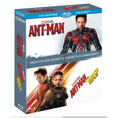 Ant-Man / Ant-Man And The Wasp (2 BluRay) [Blu-Ray Nuovo]