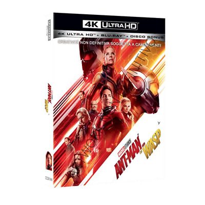 Ant-Man And The Wasp (4K Ultra Hd+Blu-Ray)[Blu-Ray Nuovo]