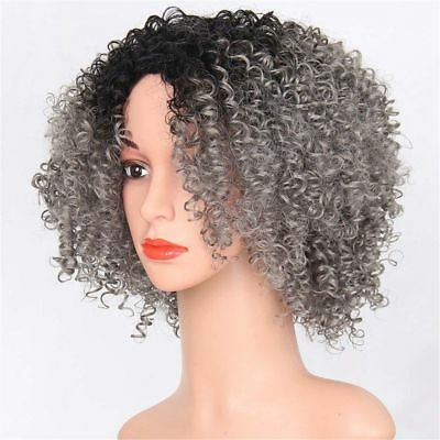 Lady Hair Curly Wavy Lace Front Wig Full head with Baby Hair Afro Cruly Wave Wig