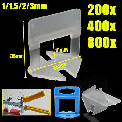 1/1.5/2/3mm Tile Leveling System 200-800 Clip Wall Floor Tile Spacer Tiling Tool