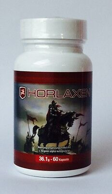 Horlaxen (116,07 €/ 100 G) 60 Capsules Muscle gain New Express Delivery