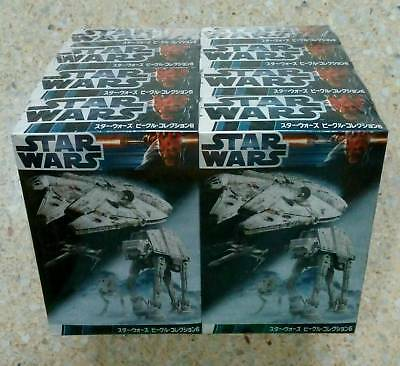 Star Wars - Vehicle Collection 6, 8 pieces - 1/144 Scale, by F-Toys!  New! Neu!
