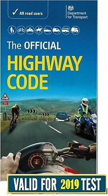 OFFICIAL HIGHWAY CODE BOOK DVSA LATEST EDITION 2019 test*HW