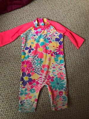 Baby Girl - UV Protection Swim Suit 12-18 Months