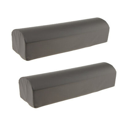 2pcs Elevating Leg Knee Cushion Massage Bed Table Bolster Pillow with Cover