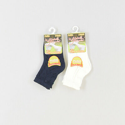Pack 2 calcetines  color Azul marca Isabel Mora 0 Meses  514131
