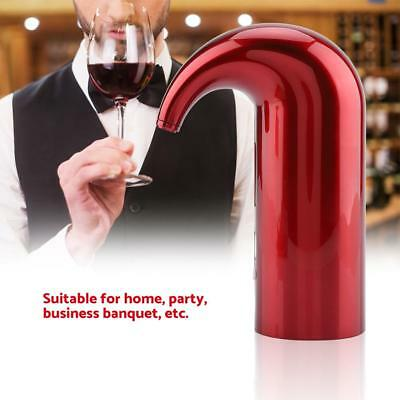 Portable USB Electric Automatic Wine Aerator Dispenser Decanter Pouring Pourer