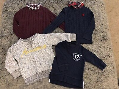 NEXT bundle -  4Jumpers - 1.5-2 Years Boys Toddler Winter