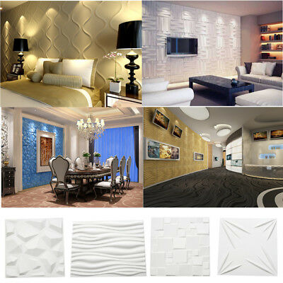 Natural Bamboo 3D Wall Panel Ceiling Tiles Cladding Wallpaper Decorative 1/6 ㎡