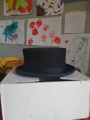 Christys' Navy Blue Top Hat - Dressage Showing Size 7 - 57cms