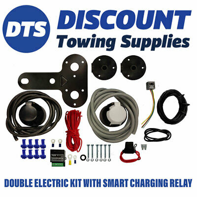 Motorhome Twin Electric 12N 12S Electric Kit Inc Audible & Charging Relay