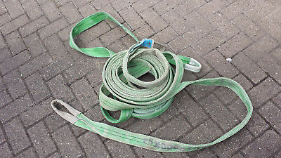 2qty 10 metre lifting slings 2 ton rated Free UK Shipping