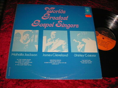 worlds greatest gospel singer´s lp vinyl