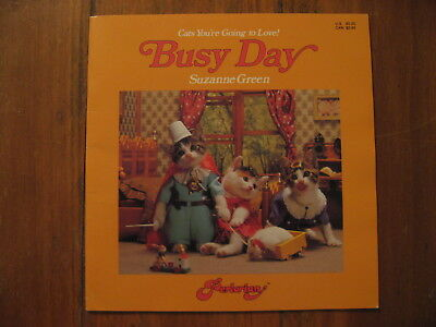 Cats You're Going to Love's Busy Day is Purrrrfect! Suzanne Green•1990