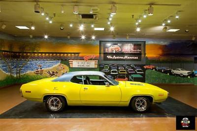 Road Runner -- 1971 Plymouth Road Runner, Curious Yellow with 1,200 Miles available now!